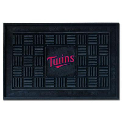 Minnesota Twins 18 in. x 30 in. Door Mat