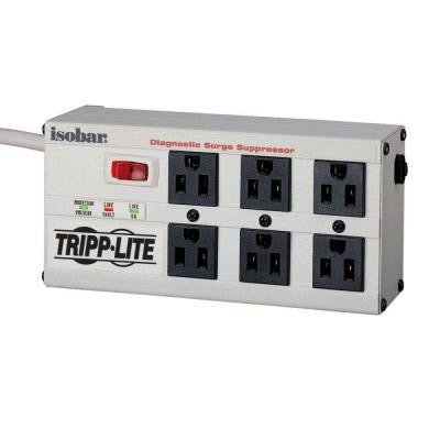 Isobar 6 - 6 ft. Cord with 6-Outlet Strip