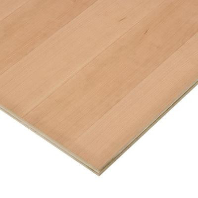 3/4 in. x 2 ft. x 4 ft. PureBond Cherry Plywood Project Panel