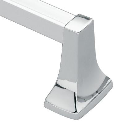 Contemporary 30 in. Towel Bar in Chrome