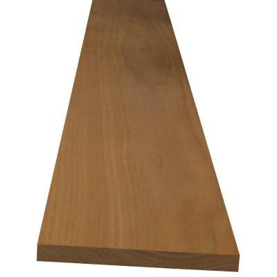 1 in. x 12 in. x Random Length Red Oak Board