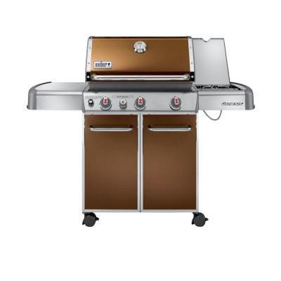Genesis E-330 3-Burner Propane Gas Grill in Copper