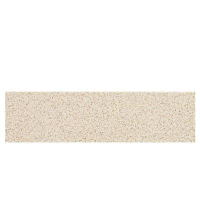Colour Scheme Biscuit Speckled 3 in. x 12 in. Porcelain Bullnose Floor and Wall Tile