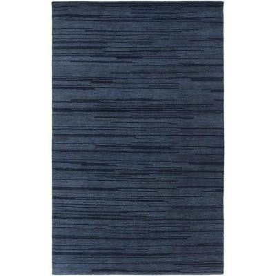 Dexter Teal 5 ft. x 8 ft. Indoor Area Rug