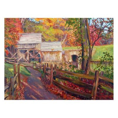 22 in. x 32 in. Memories of Autumn Canvas Art