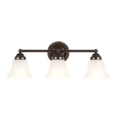 3-Light Oil Rubbed Bronze Vanity Light
