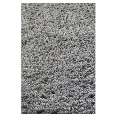 Cushy Shag Grey 3 ft. 3 in. x 5 ft. 3 in. Area Rug