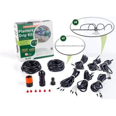 24 ft. Dripper Watering Kit with Dripper Heads