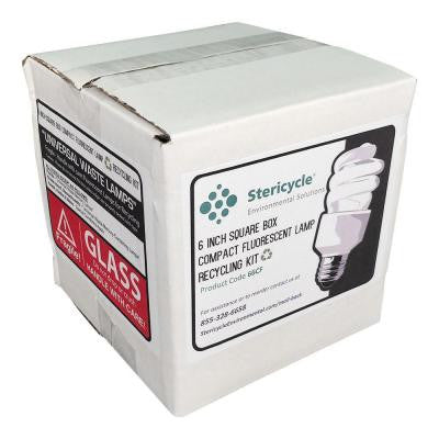 Compact Fluorescent Lamp (CFL) Consumer Box Prepaid Recycling Kit