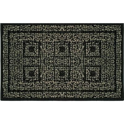 Six Panel Black Forest 18 in. x 30 in. Door Mat