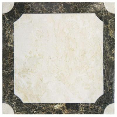 Marte 17-3/4 in. x 17-3/4 in. Ceramic Floor and Wall Tile (15.8 sq. ft. / case)