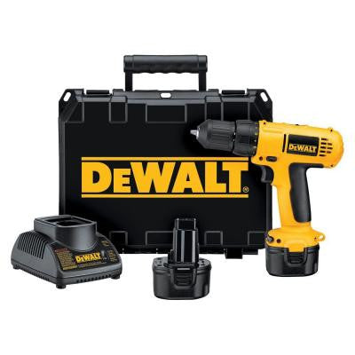9.6-Volt Ni-Cad Cordless 3/8 in. (10 mm) Compact Drill and Driver Kit