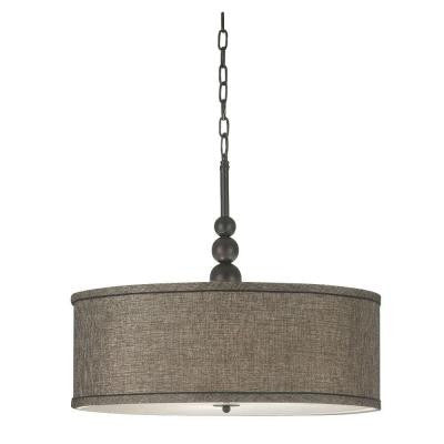 Margot 3-Light Oil Rubbed Bronze Pendant