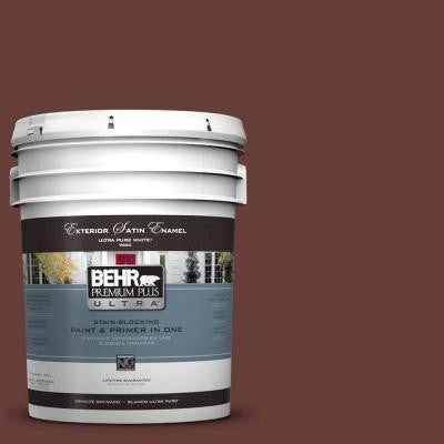 5-gal. #PPU2-1 Chipotle Paste Satin Enamel Exterior Paint