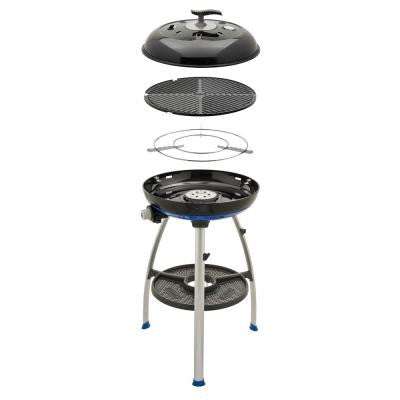 Carri Chef 2 Propane Gas Grill with Pot Ring and Grill Plate