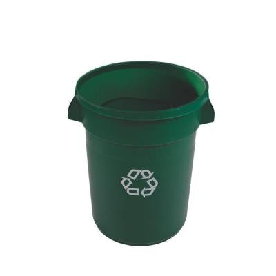Brute 20 Gal. Dark Green Recycling Container