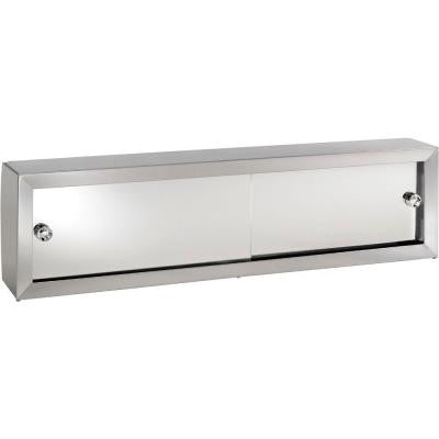 Cosmetic Box 48-1/4 in. W x 8.75 in. H x 4.25 in. D Surface-Mount Medicine Cabinet