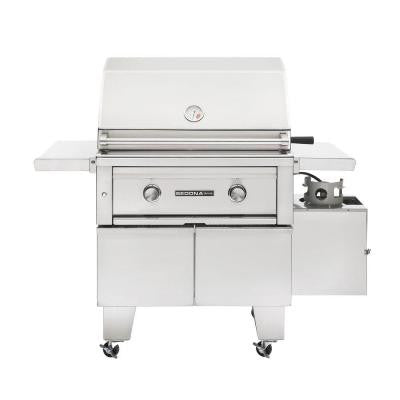 2-Burner ADA-Compliant Stainless Steel Propane Gas Grill