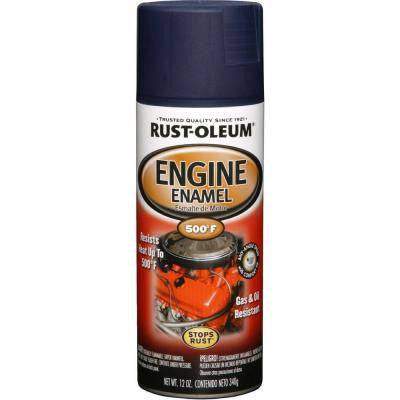 12 oz. 500° Ford Dark Blue Engine Enamel Spray Paint (Case of 6)