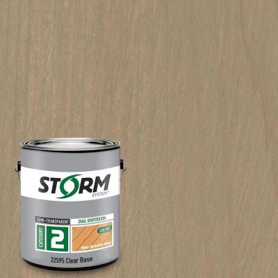 Category 2 1 gal. Boatslip Gray Exterior Semi-Transparent Dual Dispersion Wood Finish
