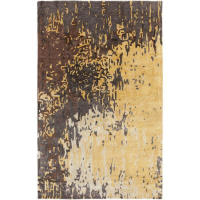 Atkinson Chocolate 3 ft. 3 in. x 5 ft. 3 in. Indoor Area Rug