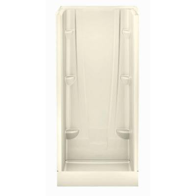 A2 36 in. x 36 in. x 76 in. Shower Stall in Biscuit