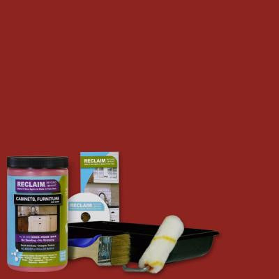 1-qt. Poppy All in One Multi Surface Interior/Exterior Cabinet, Furniture and More Refinishing Kit