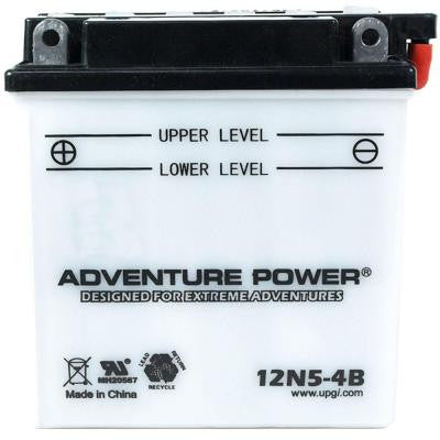 Conventional Wet Pack 12-Volt 5 Ah Capacity F Terminal Battery