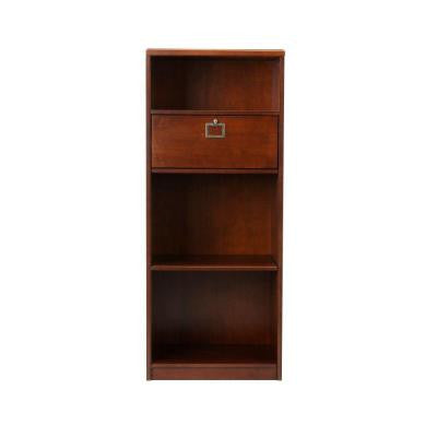Solutions Sequoia 4-Shelf Bookcase with Drawer