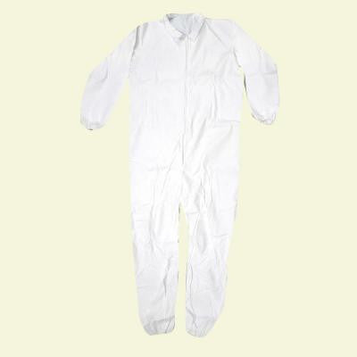 Large White Lightweight Coveralls