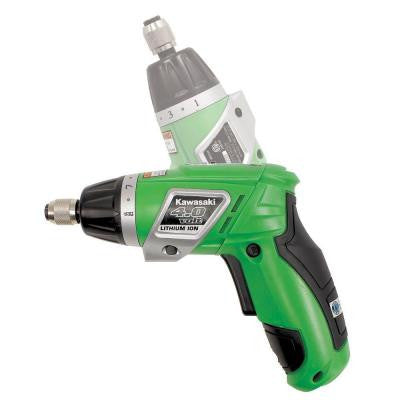 4-Volt Dual Angle Lithium-Ion Screwdriver