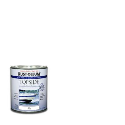 1-qt. White Gloss Topside Paint (Case of 4)