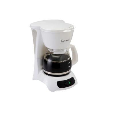 4-Cup Coffeemaker in White