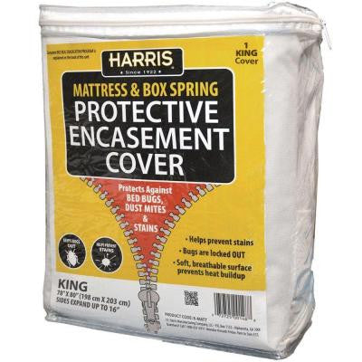 Mattress or Box Spring Protective Encasement King Cover