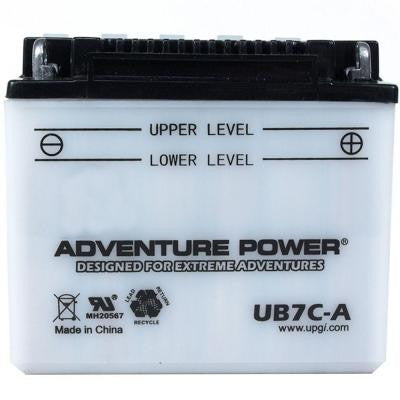Conventional Wet Pack 12-Volt 8 Ah Capacity A Terminal Battery
