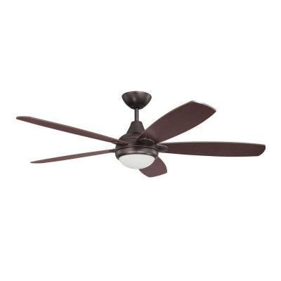 Cassiopeia 52 in. Copper Bronze Indoor Ceiling Fan