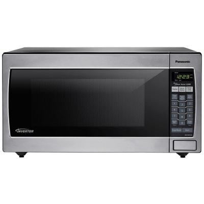 2.2 cu. ft. 1250 Watt Countertop Microwave in Stainless Steel with Sensor Cooking
