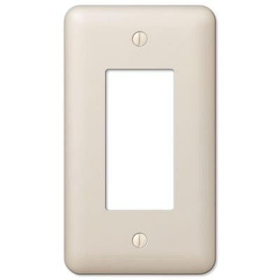 Devon 1 Rocker Wall Plate - Almond