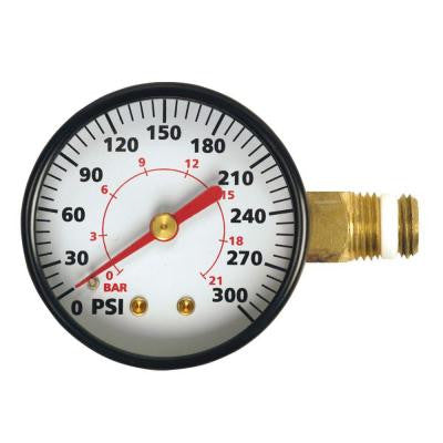 2 in. Heavy-Duty Side-Mount Gauge