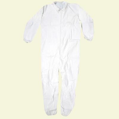 X-Large White Lightweight Coverall