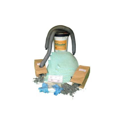 6.5 Gal. Universal Oily and Watery Absorbent Spill Kit