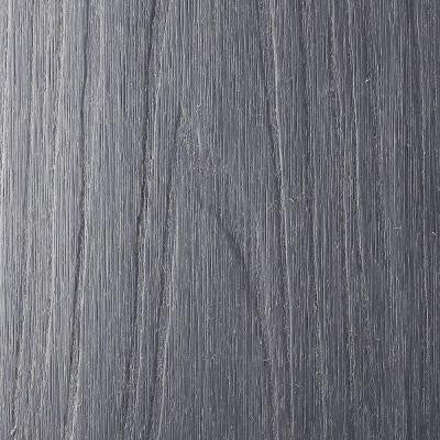 UltraShield Naturale Cortes Series 0.9 in. x 5.5 in. x 0.5 ft. Solid Composite Decking Board Sample in Westminster Gray
