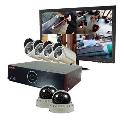 Elite HD 8-Channel 2TB NVR Surveillance System with 6 2.1 Megapixel HD Cameras