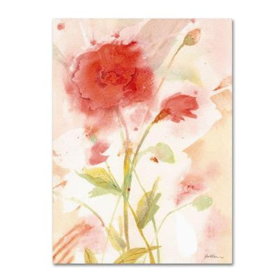 24 in. x 32 in. Wild Rose Canvas Art