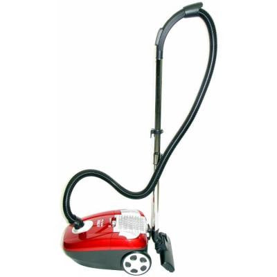 Canister HEPA Vacuum in Red