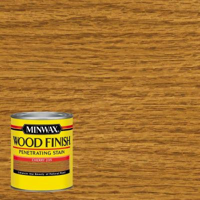 1 qt. Wood Finish Cherry Oil-Based Interior Stain
