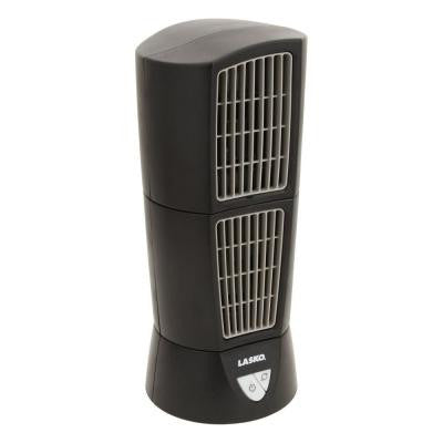 Desktop Wind Tower Fan in Black