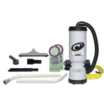 MegaVac Backpack Vacuum with Blower Kit and 14 in. Hard Floor Tool