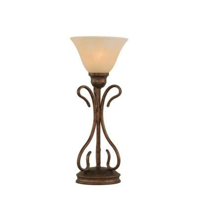 Concord 16.75 in. Bronze Incandescent Table Lamp