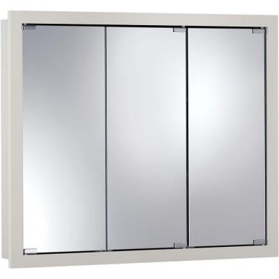 Granville 48 in. W x 30 in. H x 4.75 in. D Surface-Mount Medicine Cabinet in Classic White